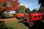 Harvest Happenings Tractor Display