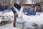 Arctic Ice Festival - Ice Carving Demonstration