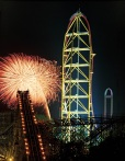 Fireworks Display at Cedar Point