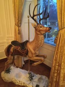 carousel, merry-go-round museum, white house christmas display